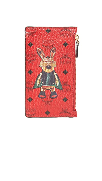 MCM Rabbit Coin Purse