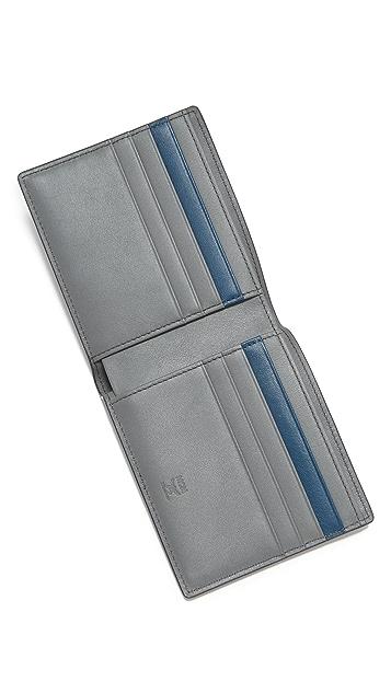 MCM Sigmund Monogrammed Leather Billfold