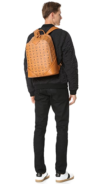 MCM Duke Visetos Backpack
