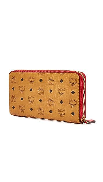 MCM Zip Wallet
