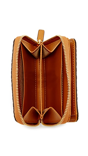 MCM Small New Year Zip Wallet