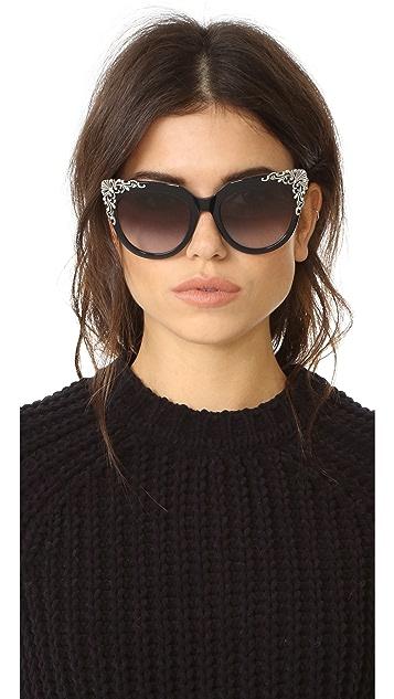 MCM Adorned Sunglasses