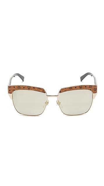 MCM Visetos Square Sunglasses