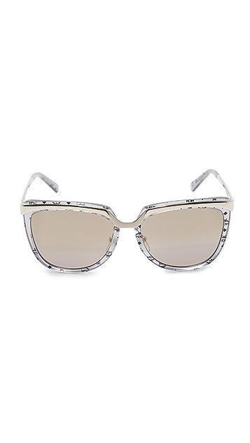 MCM Metal Brow Sunglasses