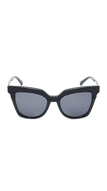 MCM Crystal Square Sunglasses