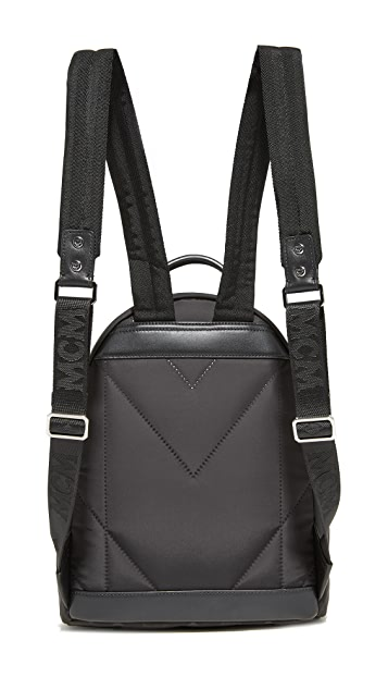 MCM Nylon Backpack