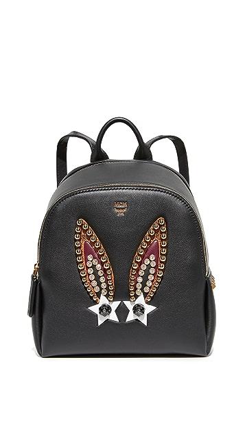 MCM Polke Bunny Backpack