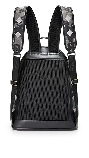 MCM Stark Camo Backpack