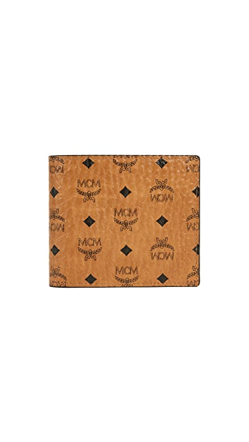 MCM Visetos Bifold Wallet