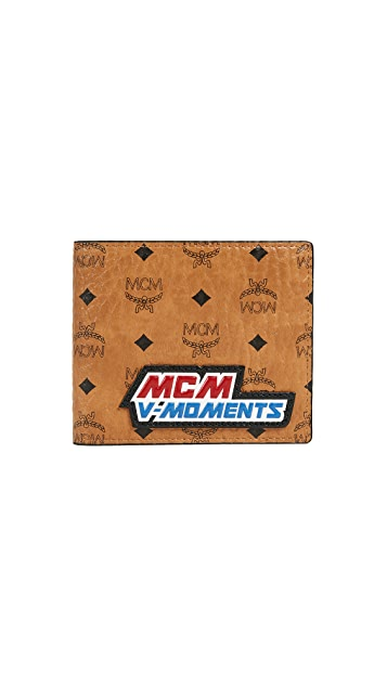MCM Victory Patch Bifold Wallet