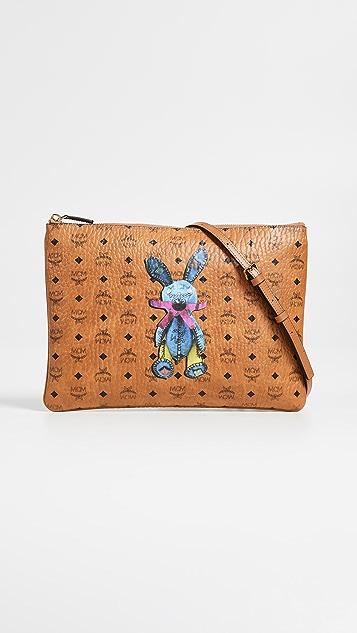 MCM Rabbit Medium Pouch
