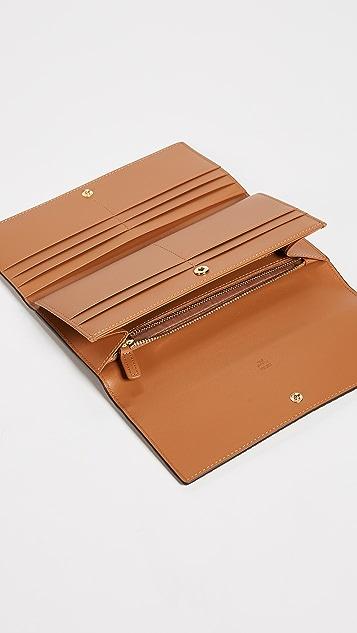 MCM 3 Fold Large Wallet