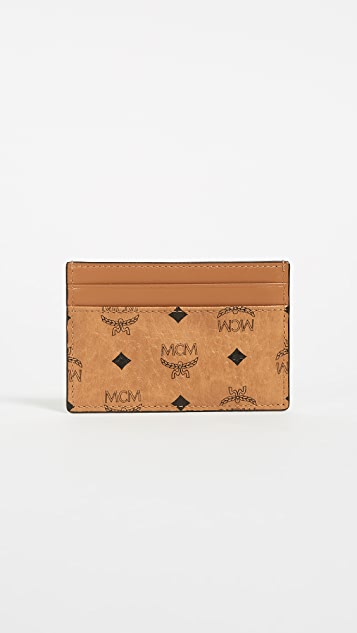 MCM Visetos Card Case