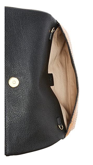 MCM Corina Visetos Cross Body Clutch