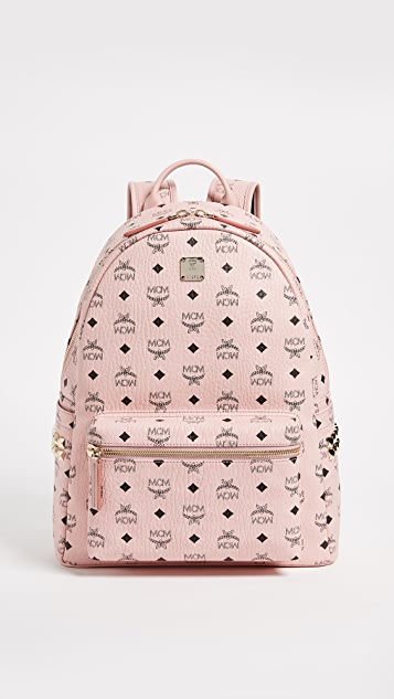MCM Medium Side Stark Backpack