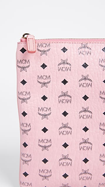 MCM Color Visetos Cross Body Pouch