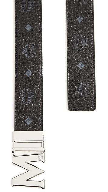 MCM M Buckle Reversible Belt
