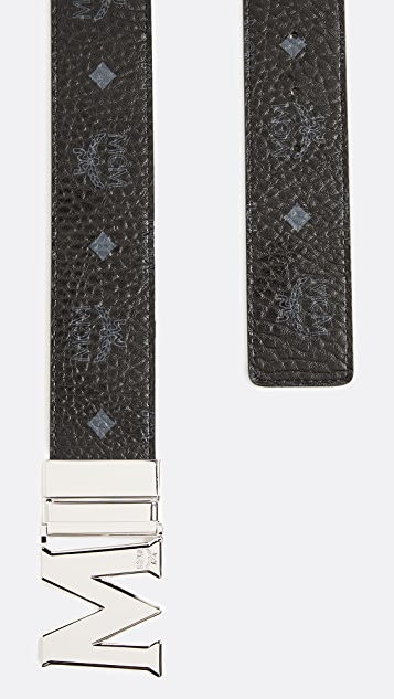 MCM M Buckle Reversible Belt