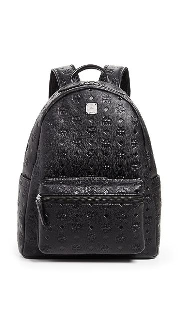 eeedc6eaf MCM Ottomar Monogrammed Leather Medium Backpack   EAST DANE