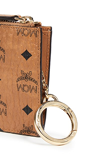 MCM Visetos Original Key Ring