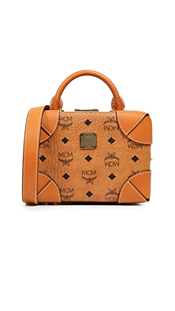 MCM Soft Berlin Visetos Small Crossbody Bag