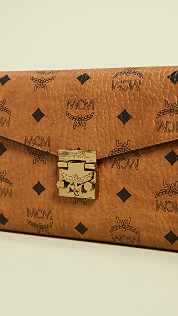 MCM Patricia Large Crossbody Wallet