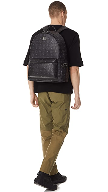 7ad4472a1f64 ... MCM Stark Large Side Stud Backpack ...