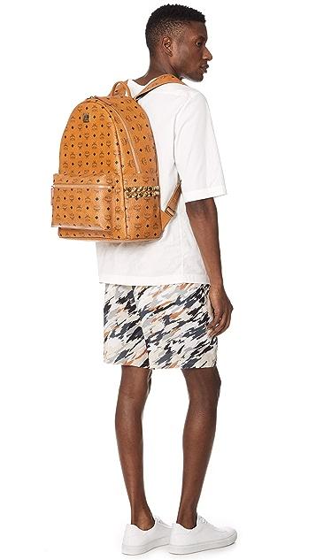 MCM Stark Large Side Stud Backpack