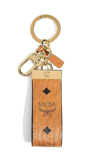 MCM Visetos Key Chain