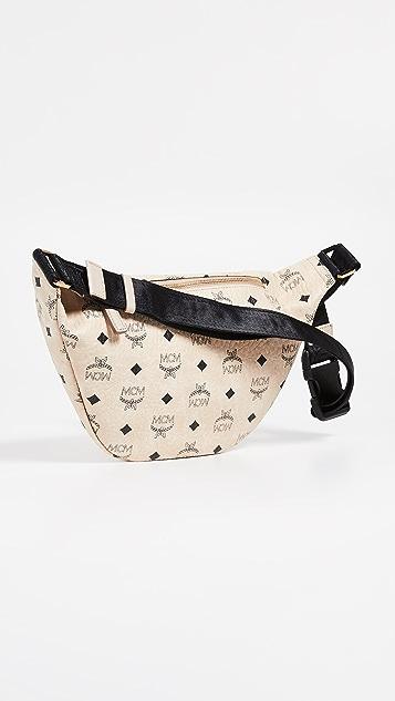 MCM Fursten Visetos Medium Belt Bag