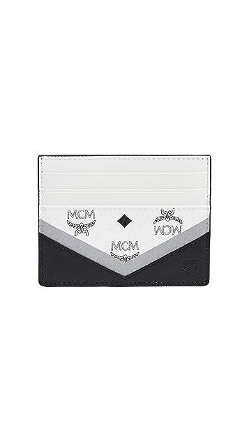 MCM M Move Visetos Mini Card Case