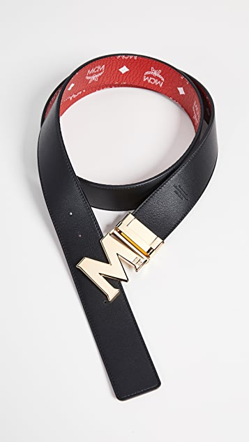 MCM Visetos Reversible Belt