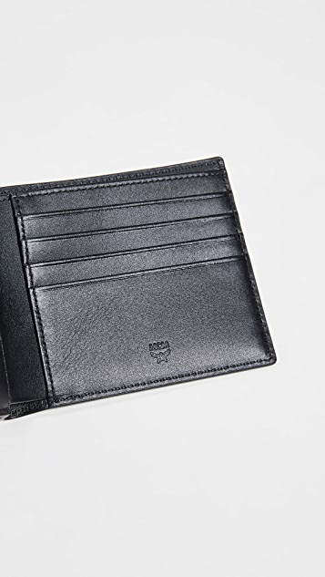 MCM M Move Visetos Flap Wallet