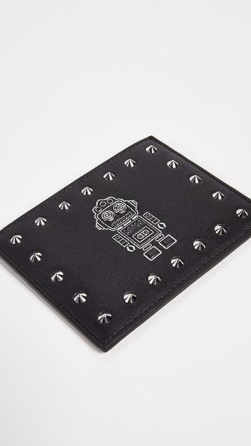 MCM Roboter Series Mini Card Case