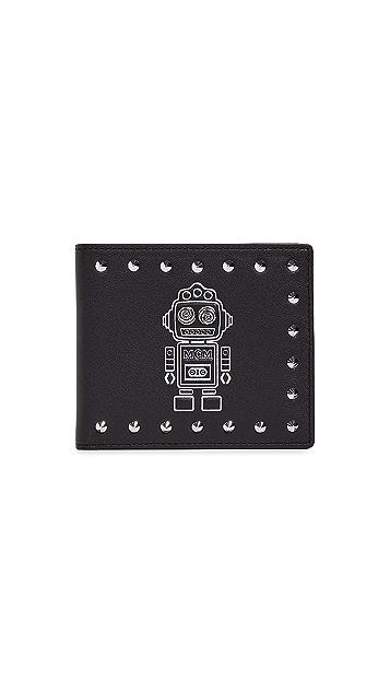 MCM Roboter Series Flap Wallet