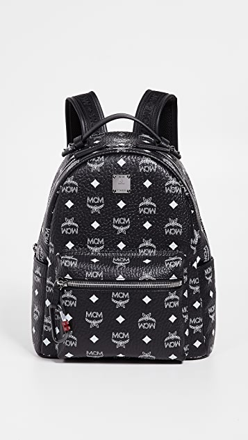 769e98f7dc MCM Visetos Logo Backpack