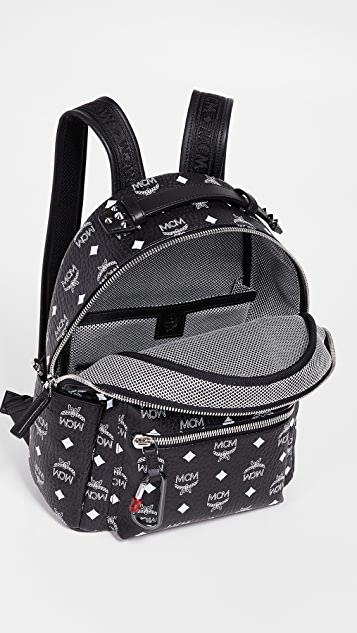 MCM Visetos Logo Backpack