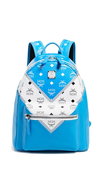 MCM Stark M Move Visetos Backpack 32