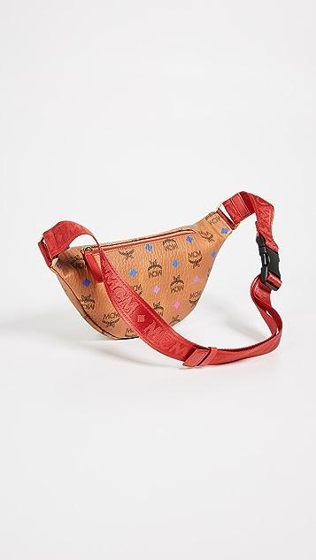 MCM Fursten Spektrum Visetos Small Belt Bag