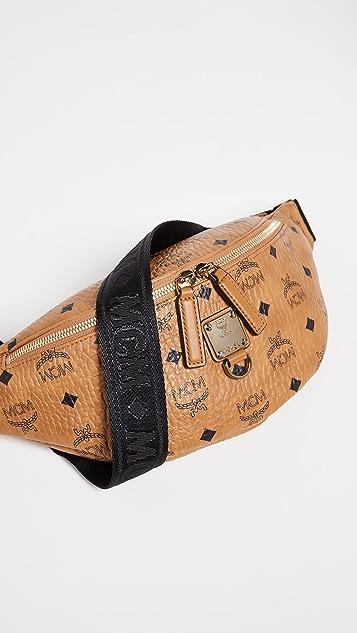 afb82a68a1d0f9 MCM Fursten Visetos Small Belt Bag