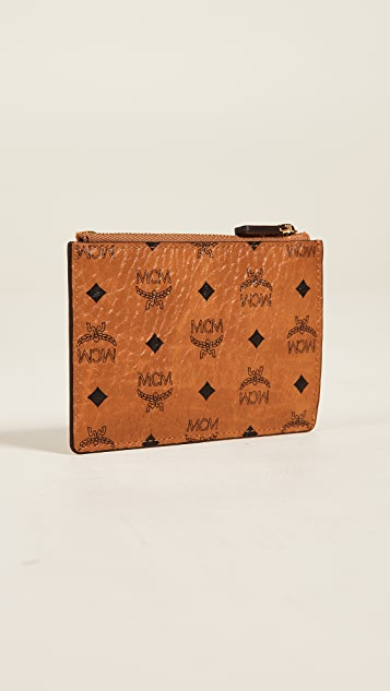MCM Visetos Original Coin Purse