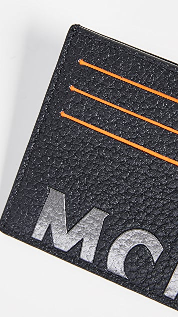 MCM Big Logo Mini Card Case