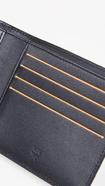 MCM Logo Bifold Wallet