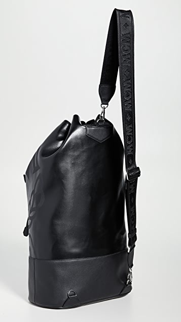 MCM Max Coated Canvas Large Backpack