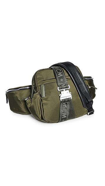 MCM Jemison Nylon Small Crossbody Bag