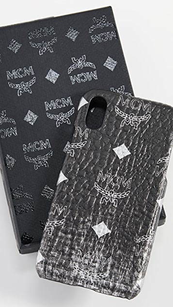 MCM Gradation Visetos iPhone XS / X Case