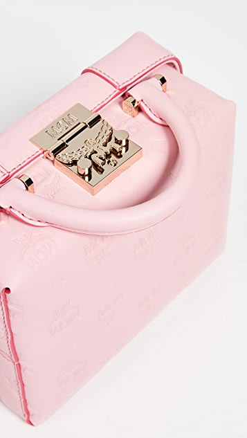 MCM Маленькая сумка через плечо Soft Berlin с монограммами