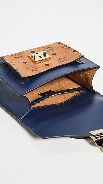 MCM Маленькая сумка-портфель Patricia Visetos Block