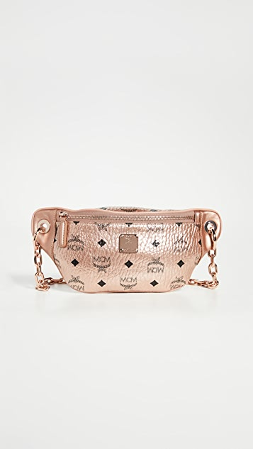 MCM Essential Visetos Original Mini Crossbody Bag