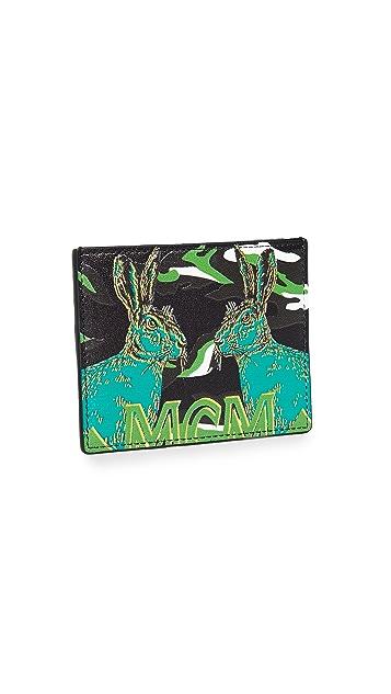 MCM Mini Pop Rabbit Card Case